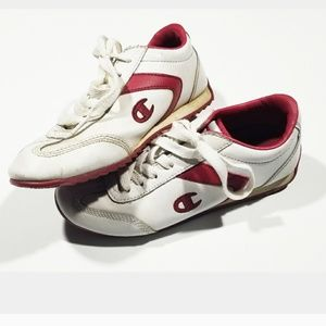 True Vintage Champion 80s 90s Red Sneakers Shoes